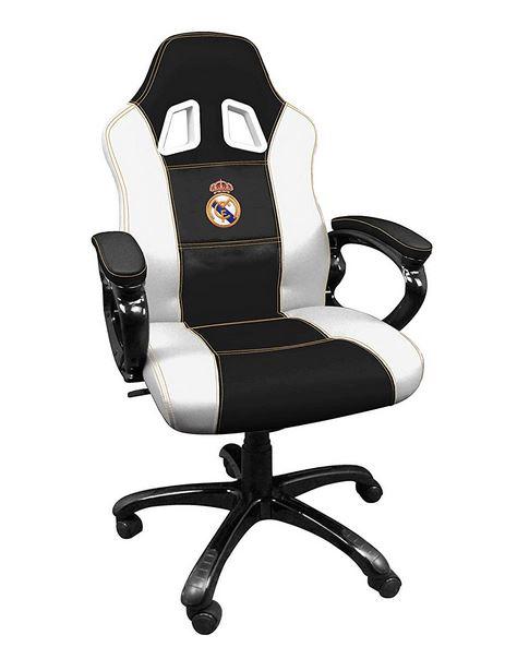 Sillas De Trabajo Madrid.Silla Gaming Modelo Real Madrid 100 Espanola Y Bajo Precio